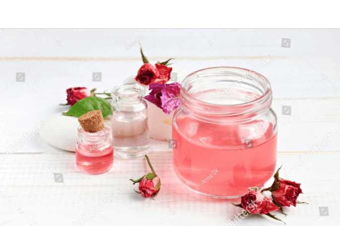 Apply Rose water for oily skin