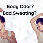Body odor, sweating, home remedy treatment
